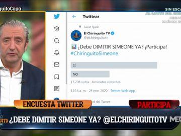 """José Damián González: """"Simeone debe dimitir ya"""""""