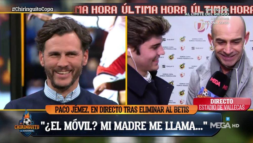 La divertidísima conversación entre Paco Jémez y Capi