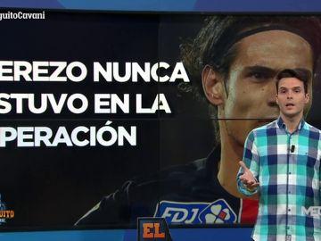 """Diego Plaza: """"Al entorno de Cavani le sorprende que hable Cerezo porque nunca estuvo en la operación"""""""
