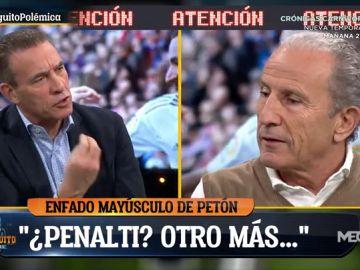 """Petón, sobre el posible penalti sobre Morata: """"No he sentido cosas diferentes a otras veces en el Bernabéu"""""""
