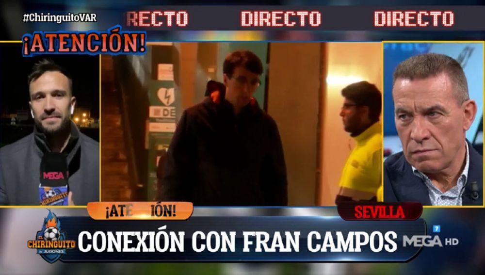"""Fran Campos: """"El Real Betis cree que hay una persecución arbitral contra ellos"""""""