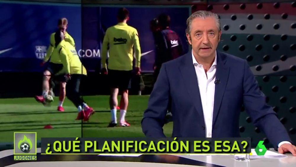 """Josep Pedrerol: """"El Barça tiene menos de 10 millones para fichar un '9'. ¿Os parece normal?"""""""