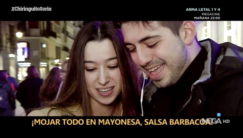 El hit de Cristóbal Soria, interpretado en las calles de Madrid