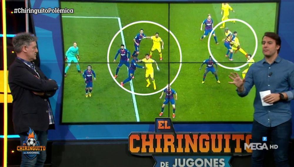 Juanfe y Rafa Guerrero analizan el gol anulado al Getafe