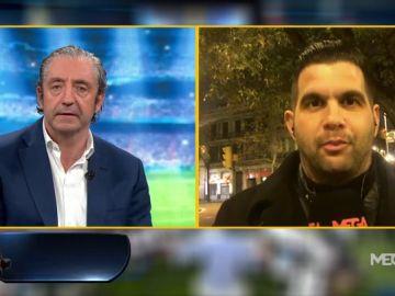 """José Álvarez: """"El '9' elegido por el Barça es Ángel"""""""