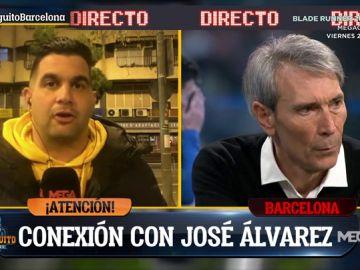 """José Álvarez: """"Bartomeu no ha tomado ninguna medida tras la reunión de hoy"""""""