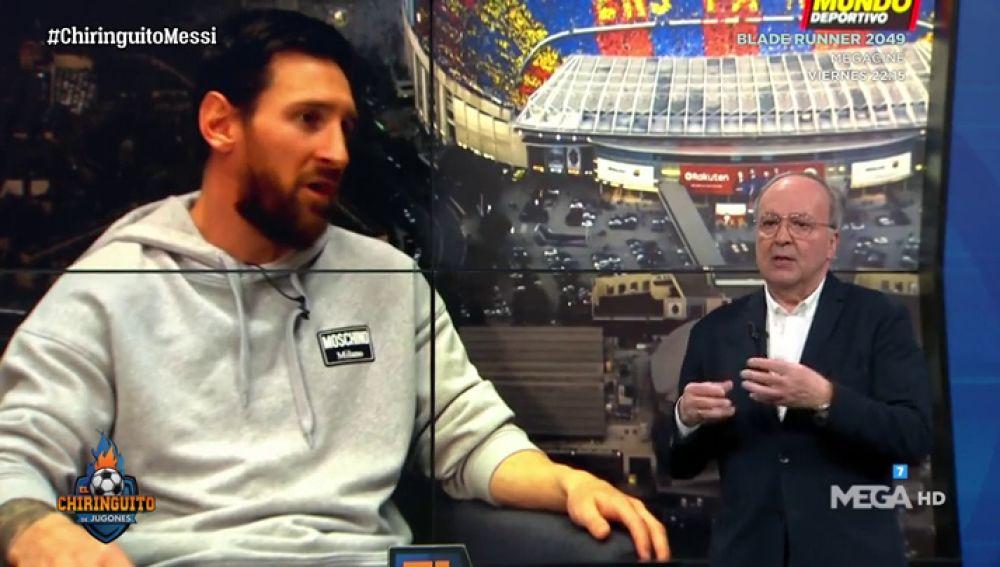 Júlio García Gómez, experto en comunicación no verbal, analiza los gestos de Messi