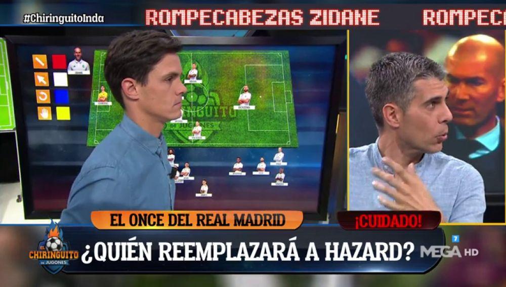 Los tertulianos intentan adivinar el once que sacará Zidane ante el Manchester City
