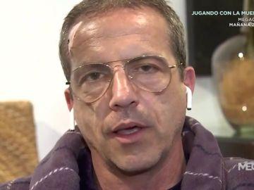 Cristóbal Soria explica el accidente en el que pensó que se había abierto la cabeza
