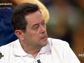 Tomás Roncero da la cara tras la derrota del Real Madrid