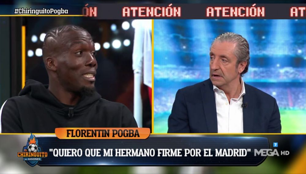 """Florentin Pogba: """"Quiero que mi hermano fiche por el Madrid"""""""