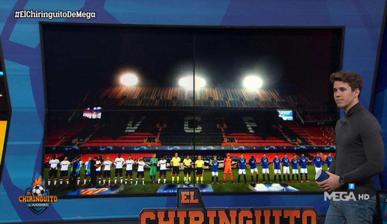 El Valencia queda eliminado de Champions en un Mestalla mudo