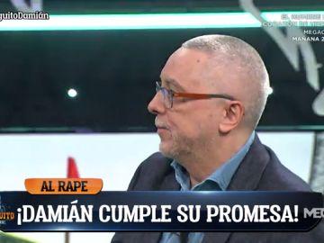Damián cumple su promesa… ¡y se rapa el pelo!