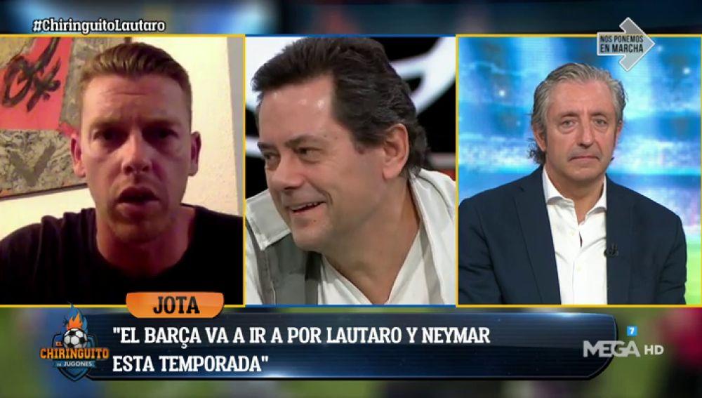 "JOTA JORDI: ""El Barça irá a por Lautaro y Neymar"""
