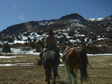 Kyle y su caballo