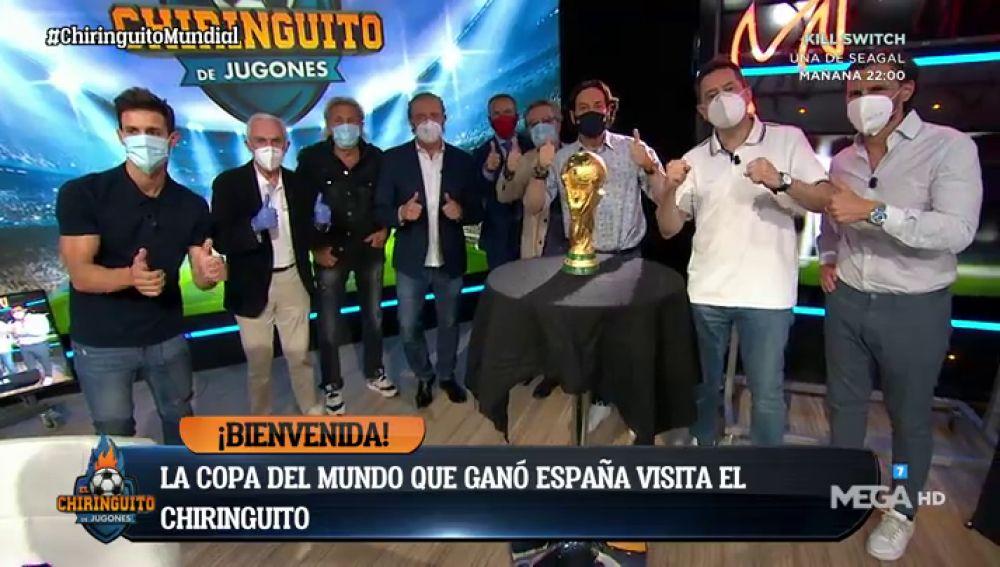 La Copa del Mundo que ganó España en 2010, en El Chiringuito
