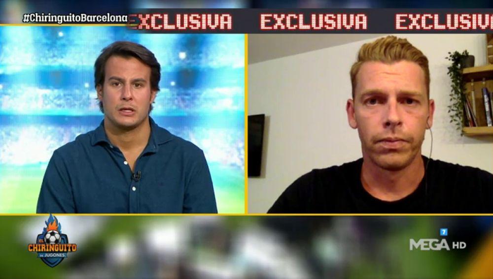 """Jota Jordi: """"Koeman ha llamado a Jordi Alba y Piqué para decirles que siguen en el Barça"""""""