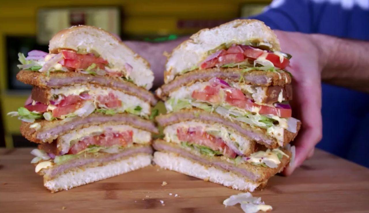 La hamburguesa 'Monster' de Indiana