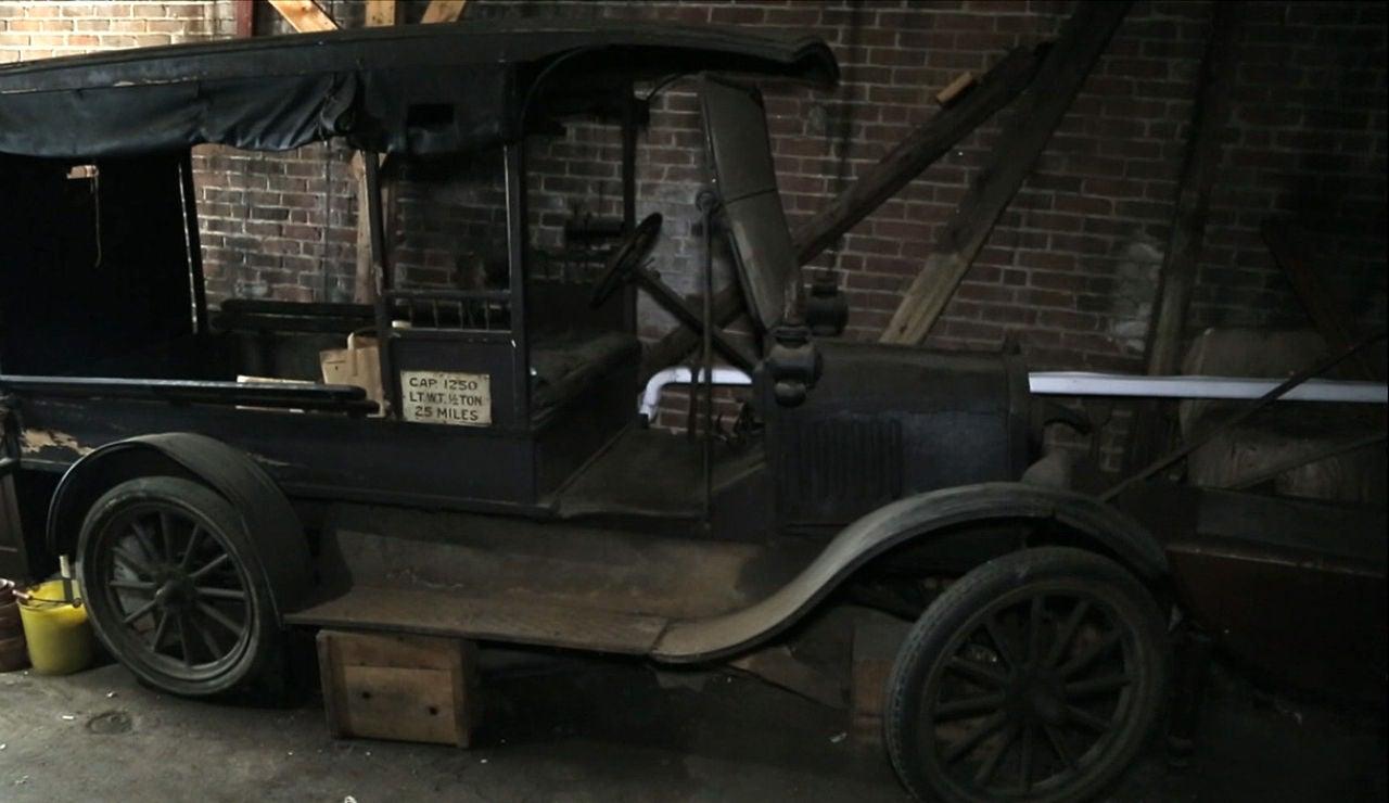 Un Modelo T de reparto