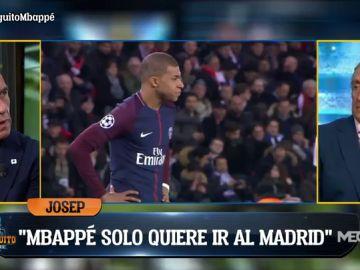 "Josep Pedrerol: ""Mbappé solo quiere ir al Real Madrid"""