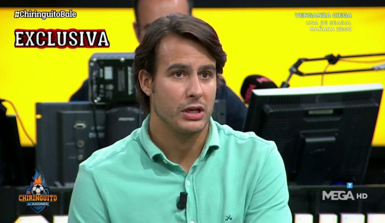 """Juanfe Sanz: """"El VESTUARIO ha recibido la MARCHA de BALE con cierto ALIVIO"""""""