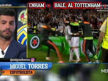 """MIGUEL TORRES: """"El Real Madrid es la máxima exigencia y Bale no se ha echado el equipo a la espalda"""""""
