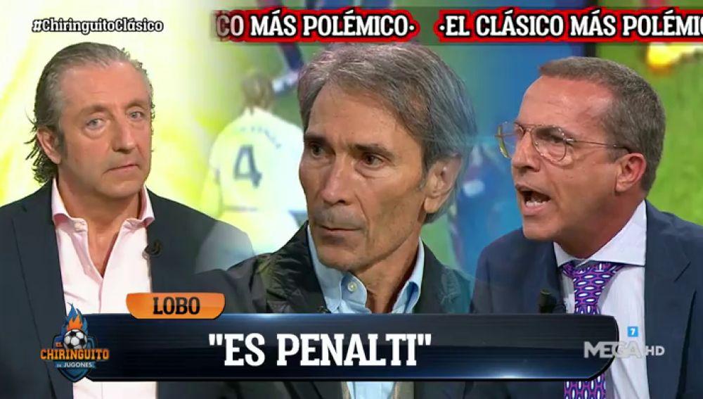 """Lobo Carrasco: """"Es penalti de Lenglet a Ramos"""""""