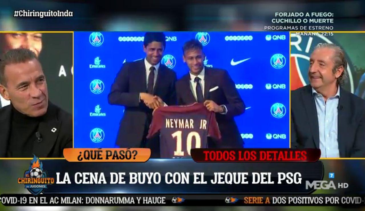 """Paco Buyo: """"CENÉ con el JEQUE del PSG en un MCDONALD´S"""""""