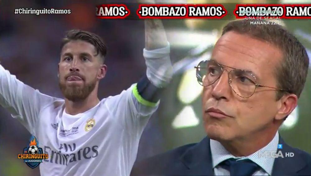 """Cristóbal Soria: """"RAMOS ESTÁ FUERA del MADRID al 80%"""""""