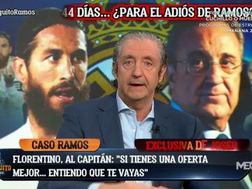 "Florentino, a Ramos: ""Si llega una oferta mejor, vete"""