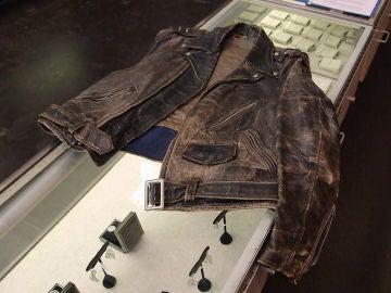 Una chaqueta de cuero de Marlon Brando