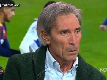 """Lobo Carrasco: """"Entregaría todos los títulos para que Messi se quedase"""""""