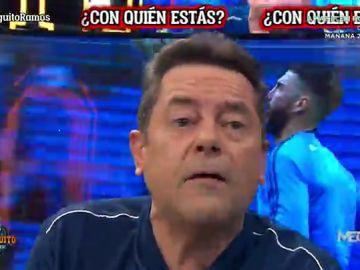 """Tomás Roncero: """"¡QUÉDATE, RAMOS! El Real MADRID es TU CASA"""""""