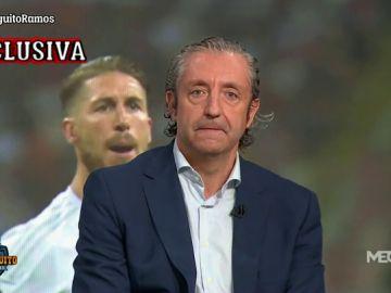 """Josep Pedrerol: """"El Real Madrid da por hecho que Ramos se irá"""""""