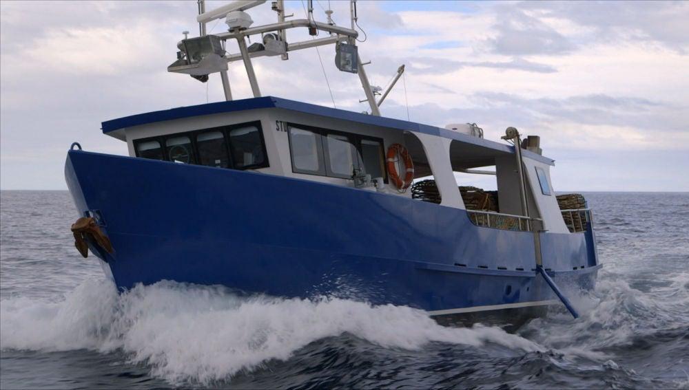 Nuevo barco en Cazadores de langostas