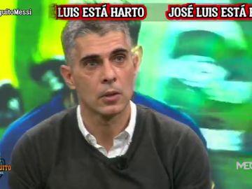 """José Luis Sánchez: """"Sois rehenes de Messi"""""""