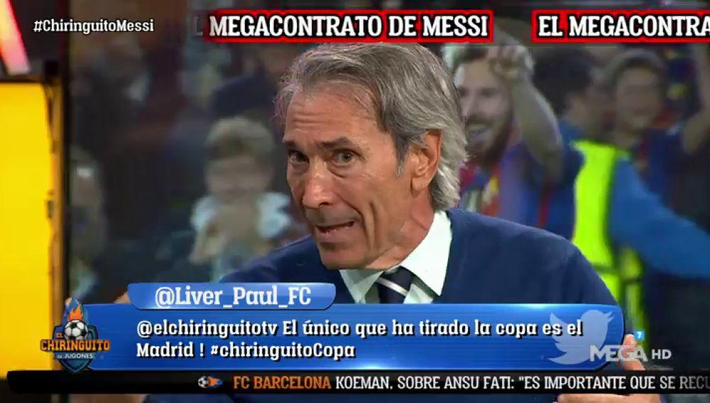 """Lobo Carrasco: """"El Real Madrid me tenía fichado"""""""