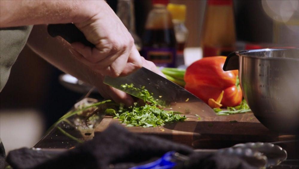 Muchos ingredientes en un plato difícil