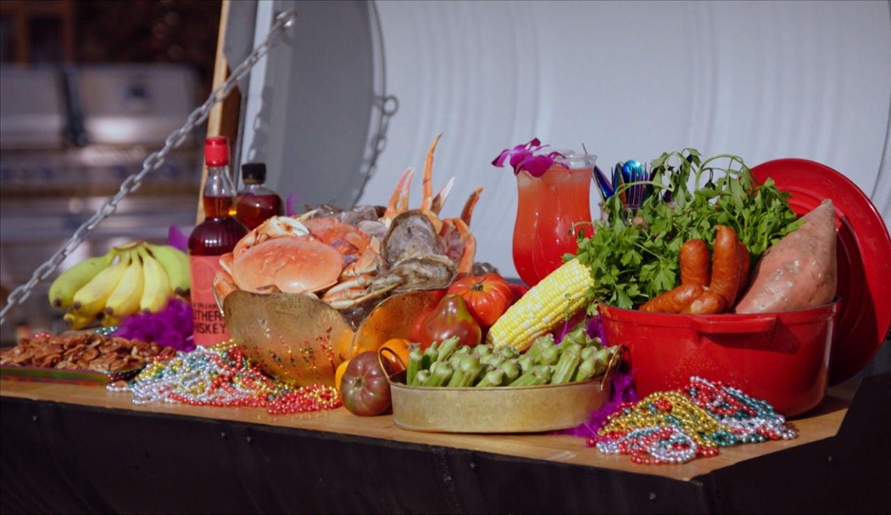 Cocina de Nueva Orleans