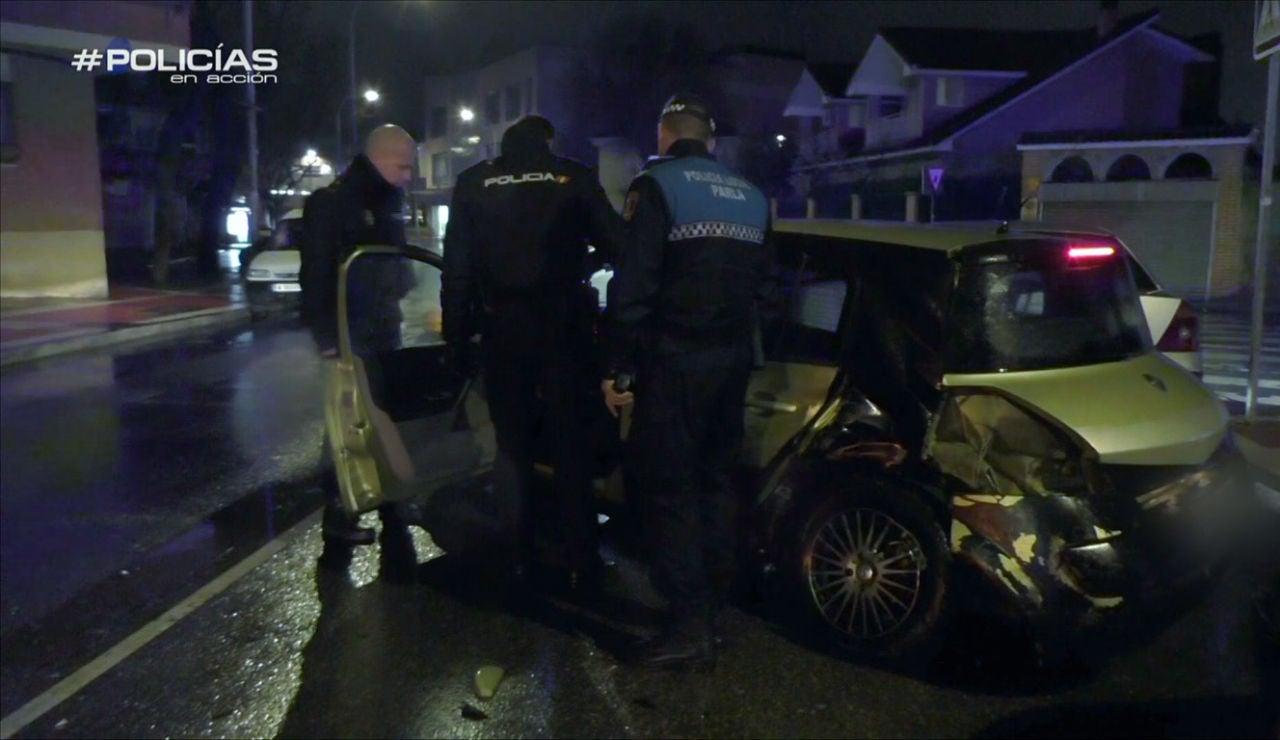 La policía investiga un accidente
