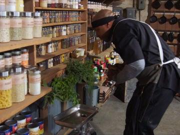 Buscando los ingredientes