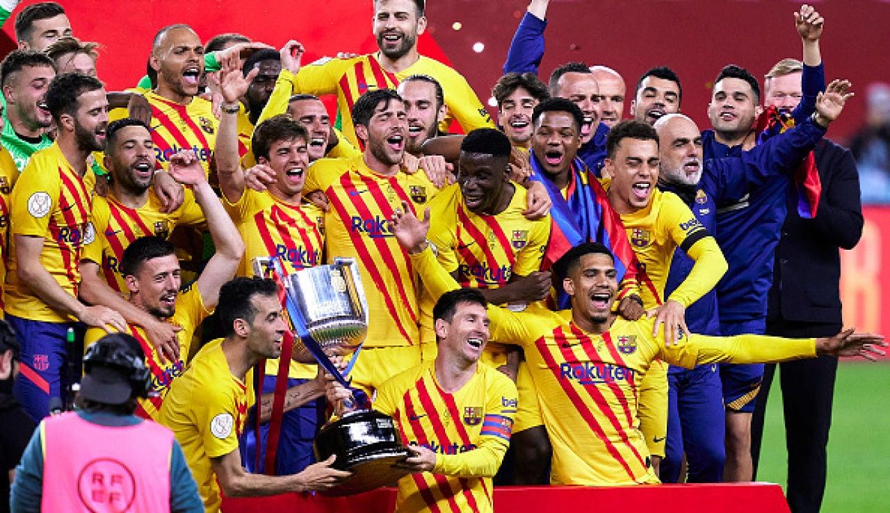 Barça, campeón de la Copa del Rey