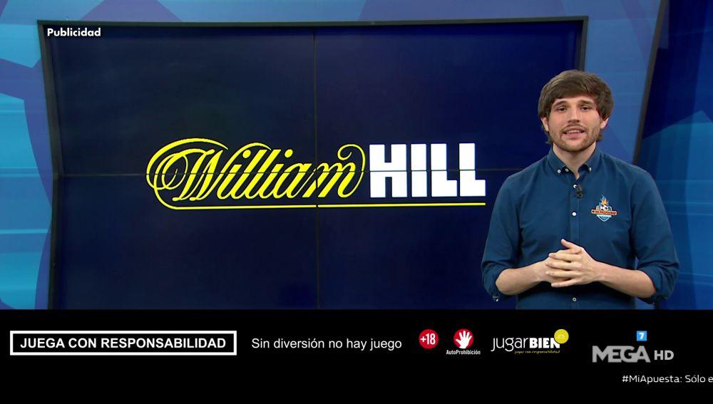 RICHI BURGOS TE TRAE ALGUNAS RECOMENDACIONES DE WILLIAM HILL