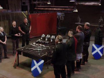 Los luchadores de 'Knight Fight' se preparan para la Guerra de Independencia escocesa