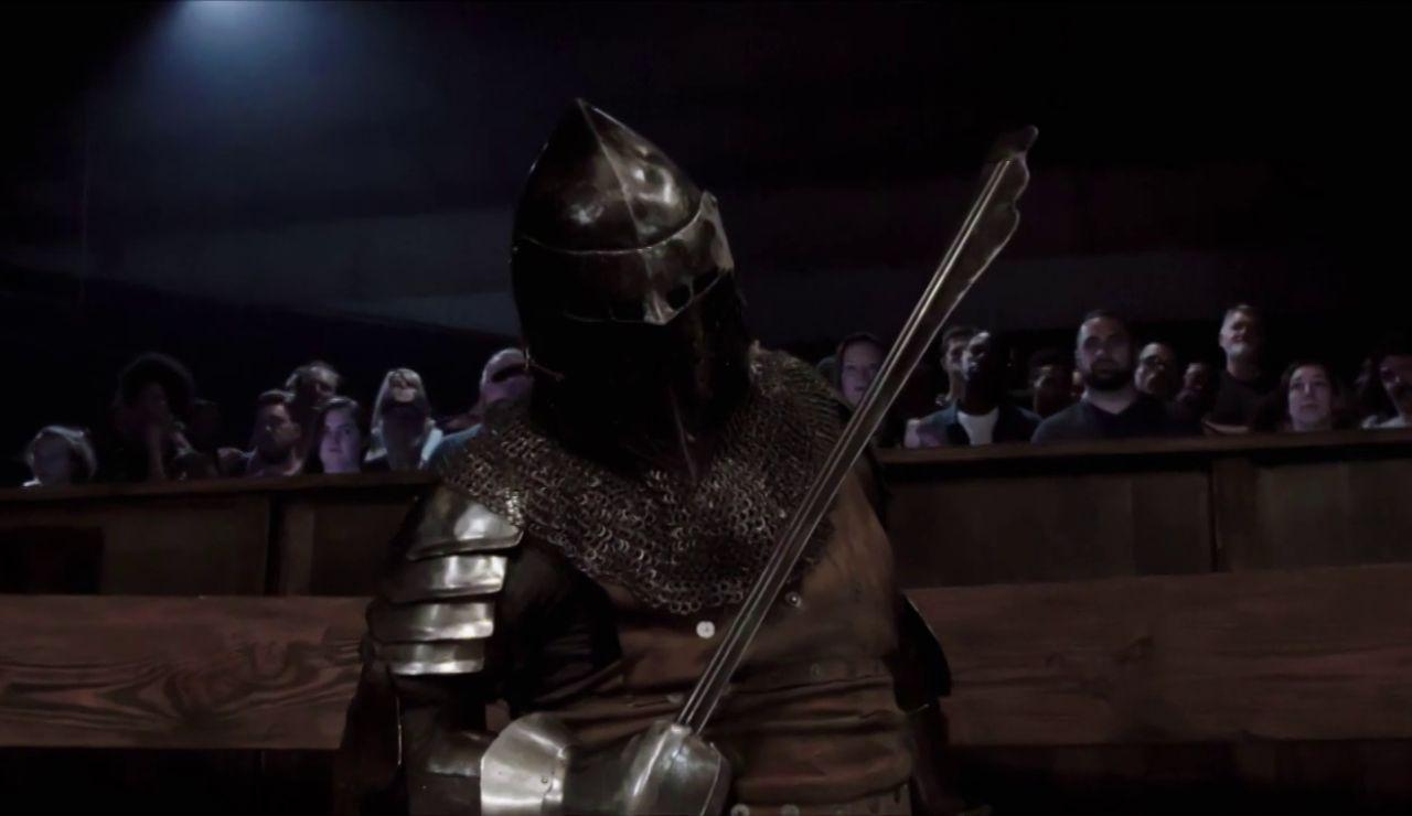 """Duelo final de 'Knight Fight': """"Se va a llevar la paliza de su vida"""""""