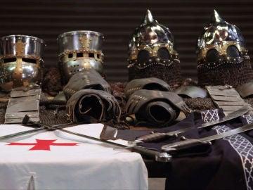 Templarios frente a sarracenos