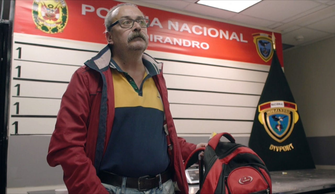 Un español, detenido en el aeropuerto