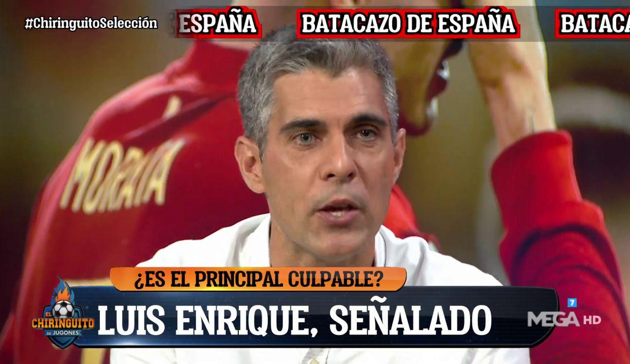 """""""VER UN PARTIDO DE ESPAÑA ES INSOPORTABLE"""""""