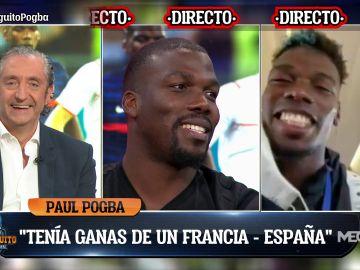 PAUL POGBA EN EXCLUSIVA  EN EL CHIRINGUITO