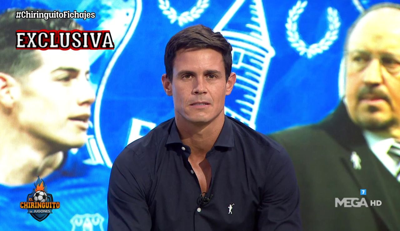 """BENÍTEZ, A JAMES: """"NO CUENTO CONTIGO"""""""